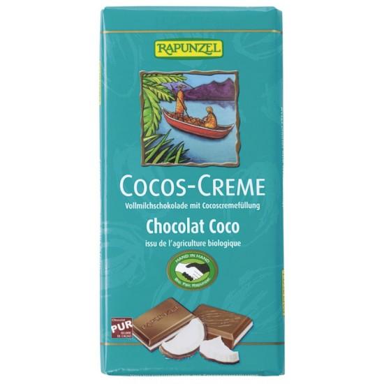 Melkesjokolade, m/kokoskrem