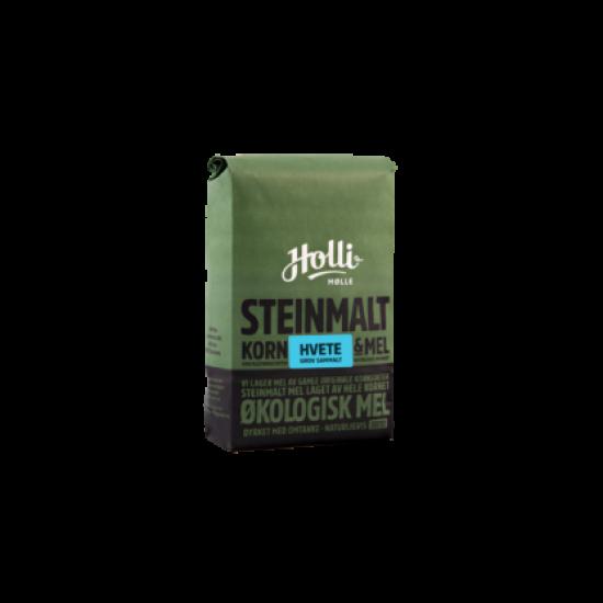 Hvete grov sammalt, 1 kg, økologisk, Holli Mølle