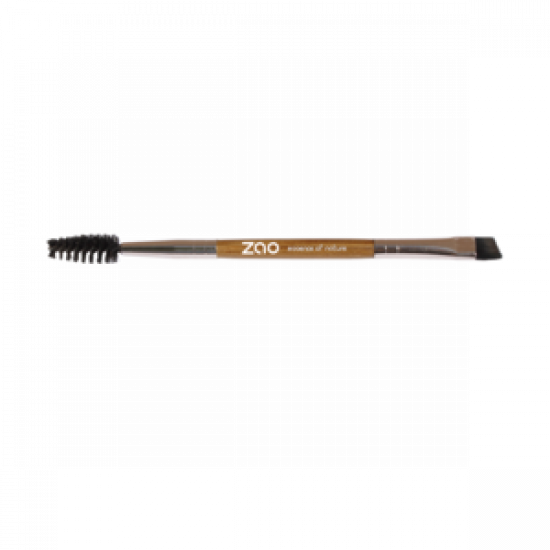 ZAO Duo Eyebrow Brush