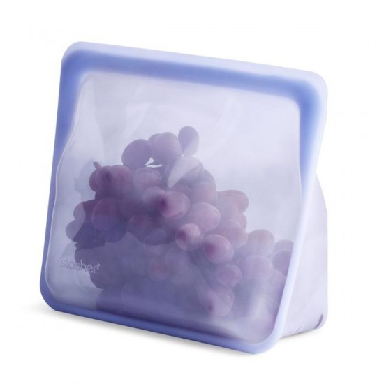 Stasher bag Stand-Up amethyst