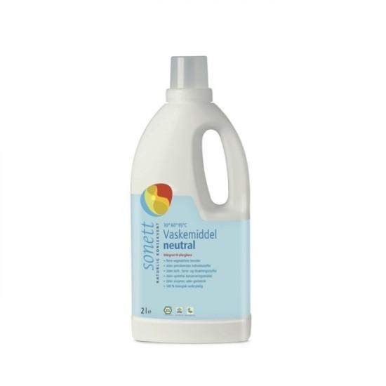 Økologisk flytende tøyvaskemiddel,nøytralt, Sonett