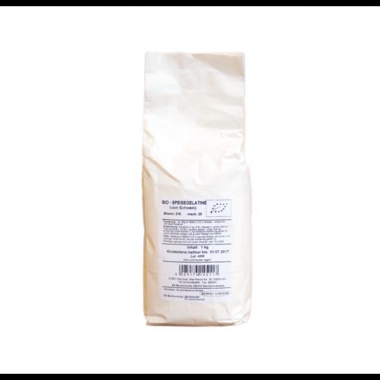 Økologisk gelatin 1kg pose