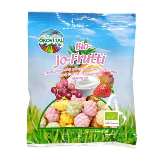 Bio-Jo-Frukt, skumbær, glutenfri, økologisk 80 g, Ökovital