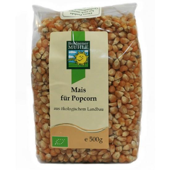 Økologisk mais til popcorn