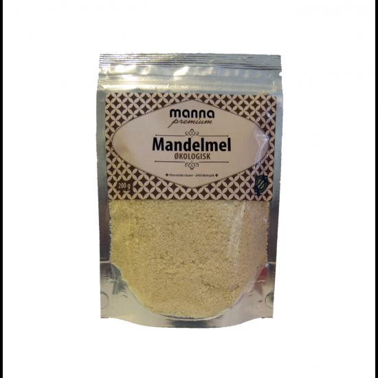 Økologisk mandelmel, Manna