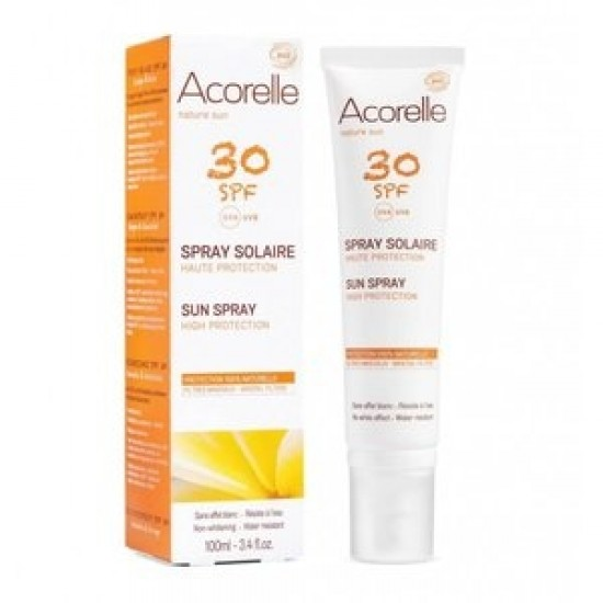 Acorelle Sun solkrem Spray SPF 30 – 100ml