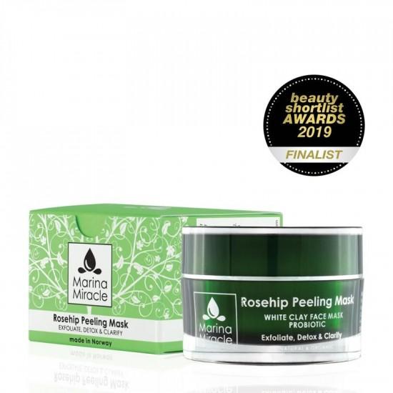Ansiktsmaske – Rosehip Peeling Mask – Marina Miracle