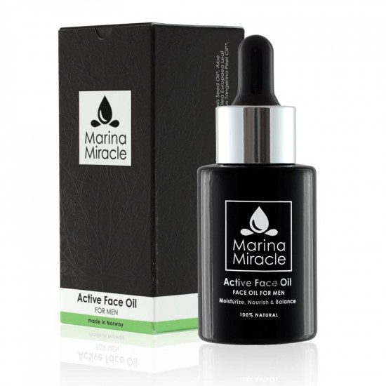 Ansiktsolje – Active Face Oil – Marina Miracle –  For MENN