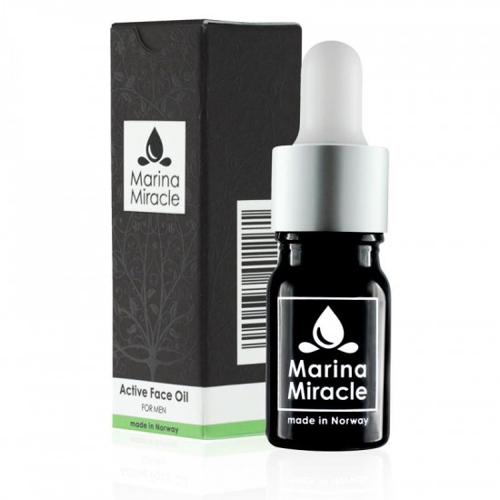 Ansiktsolje – Active Face Oil – Marina Miracle –  For MENN 5ml