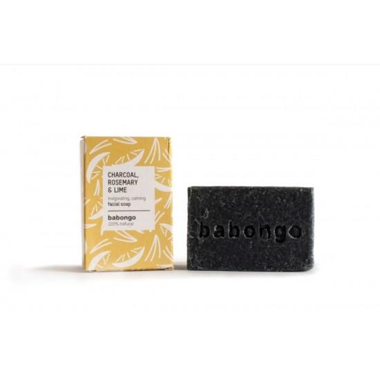 Babongo ansiktssåpe Charcoal & Rosmary & Lime