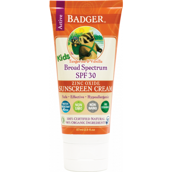 Badger solkrem SPF 30 Kids