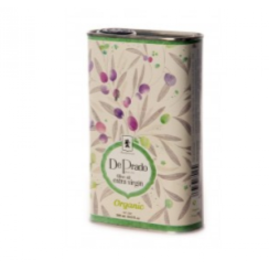 De Prado extra virgin økologisk olivenolje 500ml boks