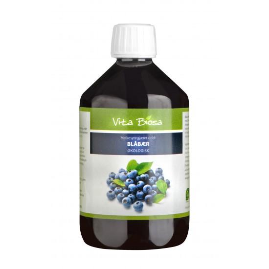 Biosa blåbær 0,5l