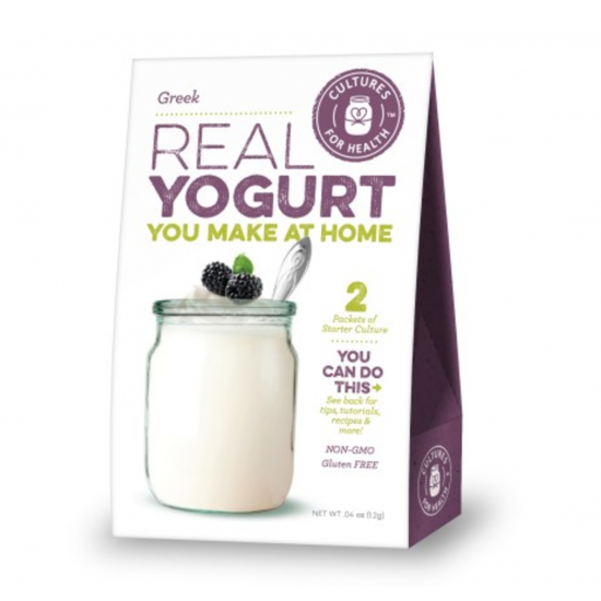 Gresk yoghurt startkultur, Cultures for Health