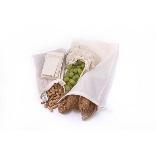 Økologisk handlenett sett, 3 pak, Tierra Verde