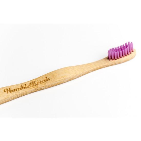 Humble Brush Tannbørste i Bambus - Rosa