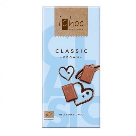iChoc Økologisk lys sjokolade, vegan