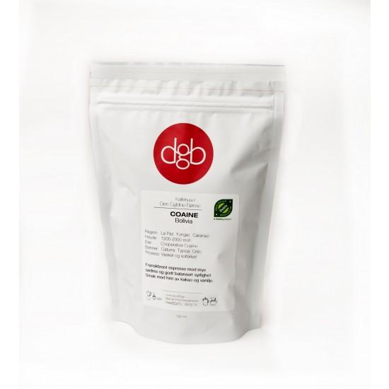 Økologisk espresso  - Coaine - Bolivia