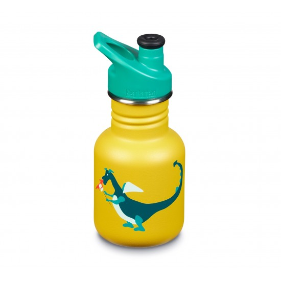Kid Kanteen Classic Sport Cap 355ml, Dragon Snack