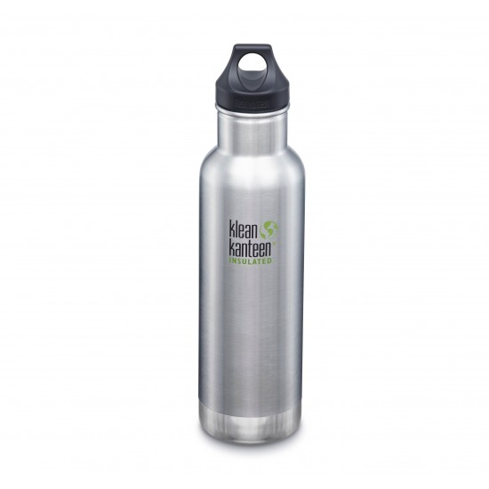 Klean Kanteen Classic Insulated 592 ml, Brushed Stainless