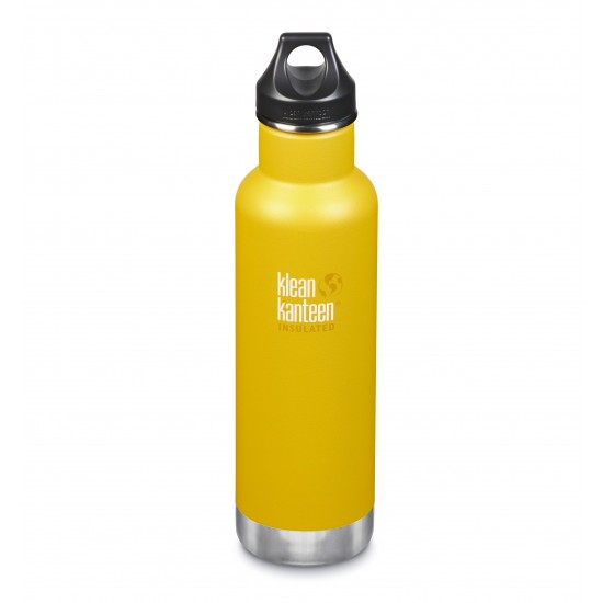 Klean Kanteen Classic Insulated 592 ml, Lemon Curry
