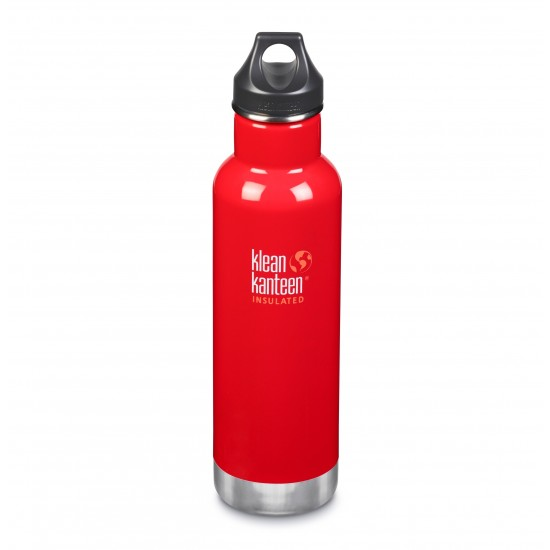 Klean Kanteen Classic Insulated 592 ml, Mineral Red
