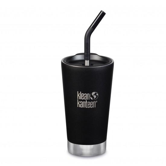 Klean Kanteen isolert tumbler kopp, 473 ml, Shale Black