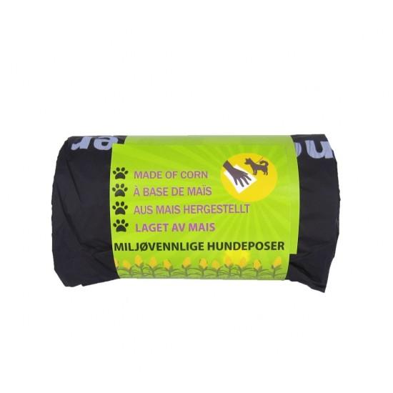 Komposterbare hundeposer m/hank, 50 stk