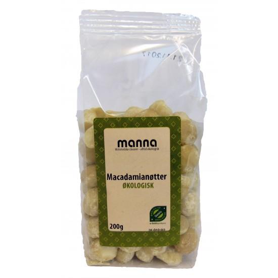 Økologiske macadamianøtter 200g