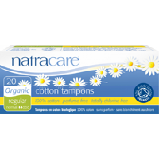 Natracare tamponger 20pk