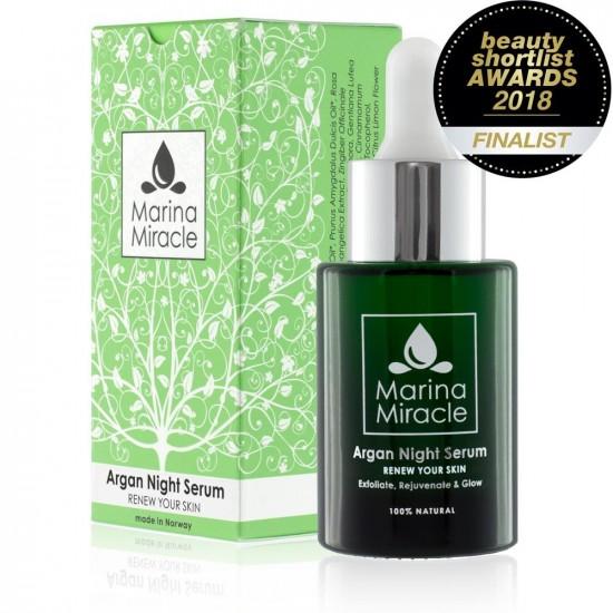Nattserum – Argan Night Serum – Marina Miracle