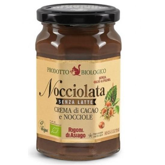 Nocciolata økologisk melkefritt sjokoladepålegg 250g