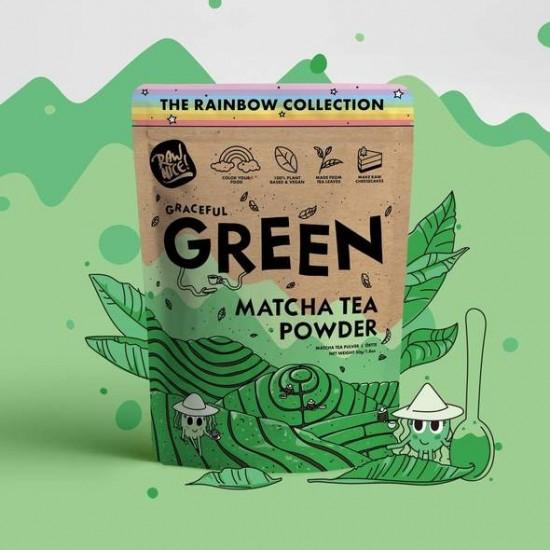 Rawnice grønn matcha 50 g