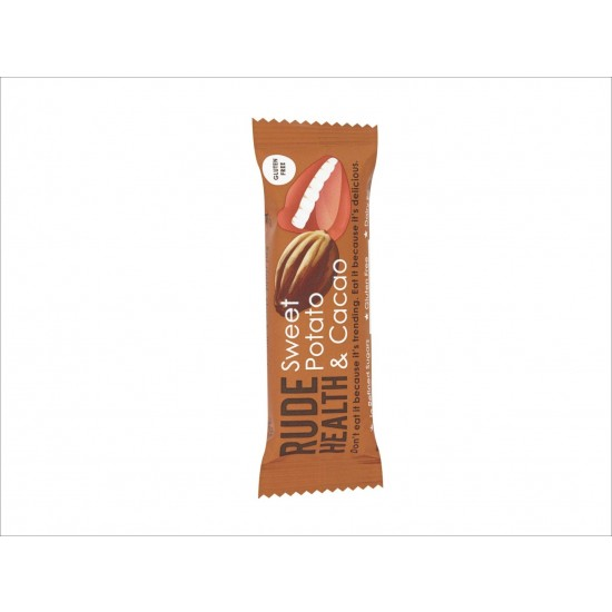 Rude Health Sweet Potato & Cacao energibar, 35G