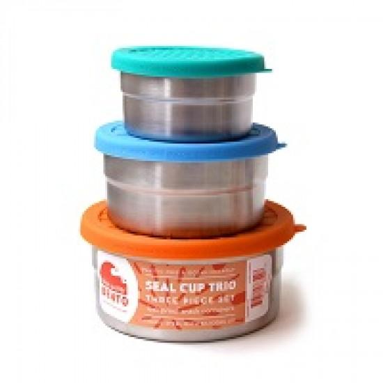 ECOlunchbox seal-cup trio