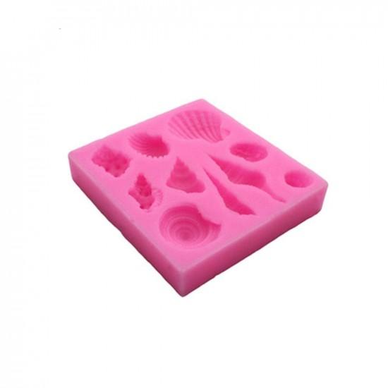 Sjøskjell silikonformer