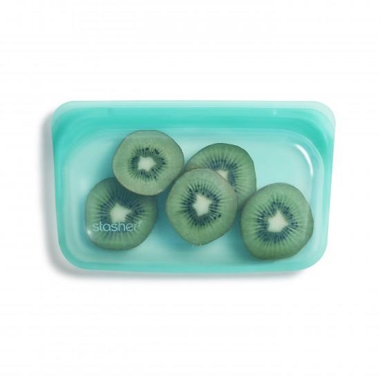 Stasher bag Snack aqua