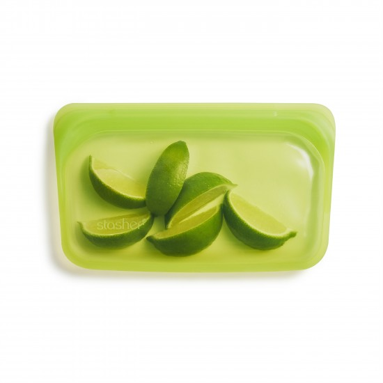 Stasher bag Snack lime