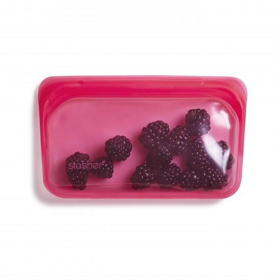 Stasher bag Snack raspberry