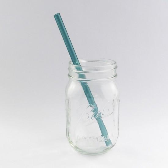 Strawesome Aquamarine sugerør standard