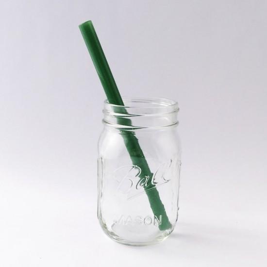 Strawesome jadegrønt sugerør smoothie