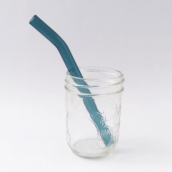 Strawesome sugerør Aquamarine kids smoothie
