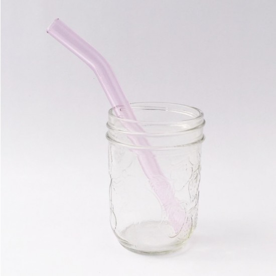 Strawesome sugerør Pink saphire kids smoothie
