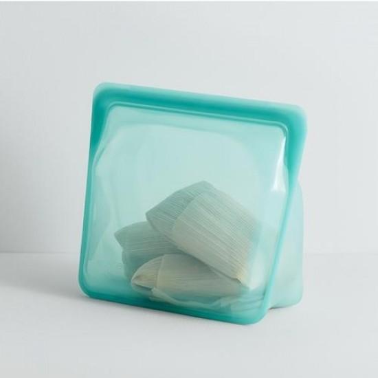 Stasher bag Stand-Up mega aqua