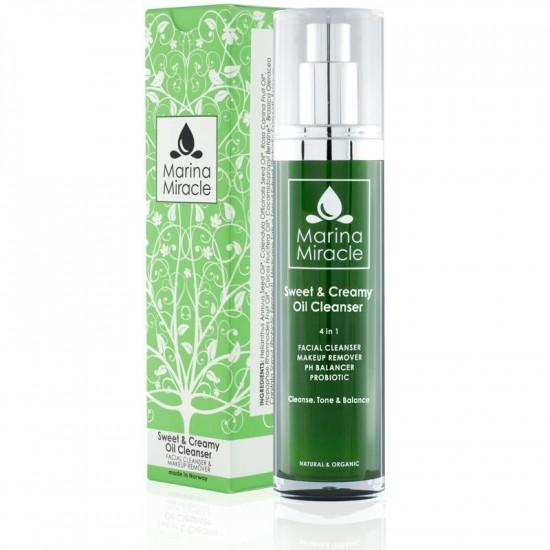 Sweet & Creamy Oil Cleanser – Marina Miracle 50ml