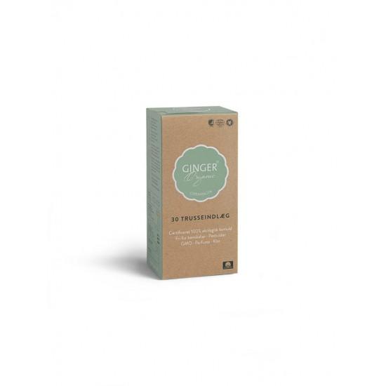 Truseinnlegg, Flex 30 stk, Ginger Organic
