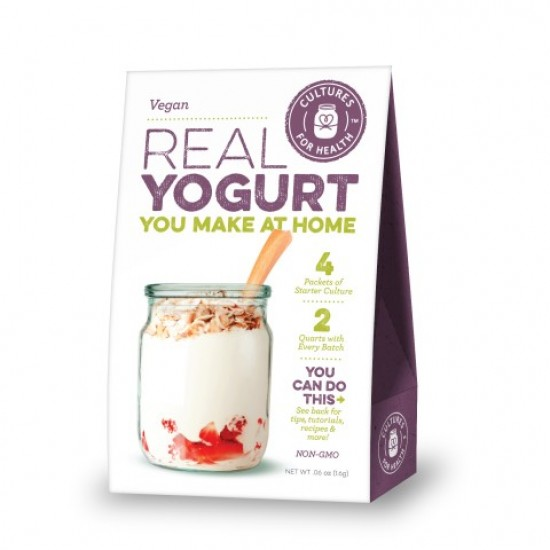 Vegansk Yoghurt startkultur, Cultures for Health