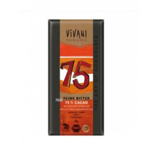 Vivani, mørk sjokolade (75%)