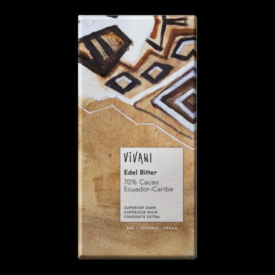 Vivani, mørk sjokolade (70%)