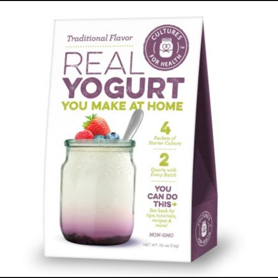 Yoghurt startkultur (tradisjonell), Cultures for Health